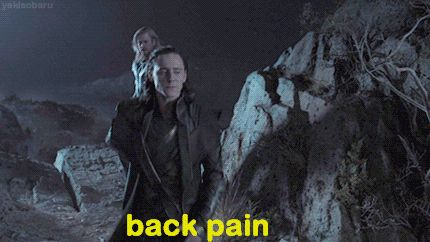 Você terá dor nas costas sem o menor motivo. | 30 coisas inesperadas que você aprende aos trinta e poucos