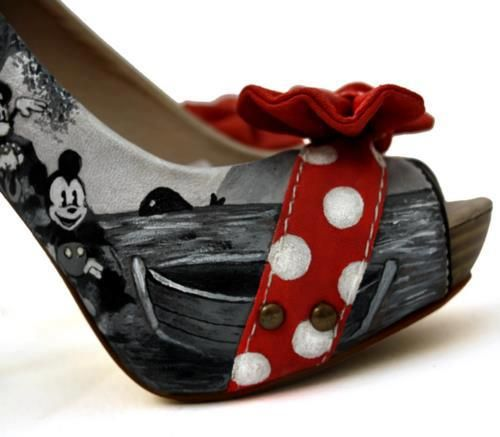 Mickey Mouse heels!@Kendra Workman Byington: