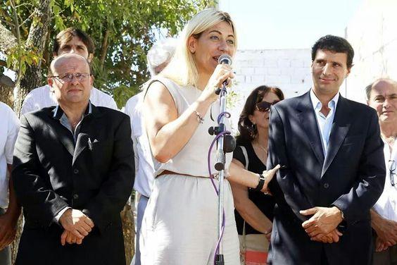 Franco La Porta  con la compañera Nora De Lucia