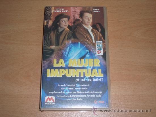 """Aitana Sanchez Gijón. """"La mujer de tu vida 2: la mujer impuntual"""" 1993.."""