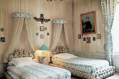 guest rooms by Madeleine Castaing
