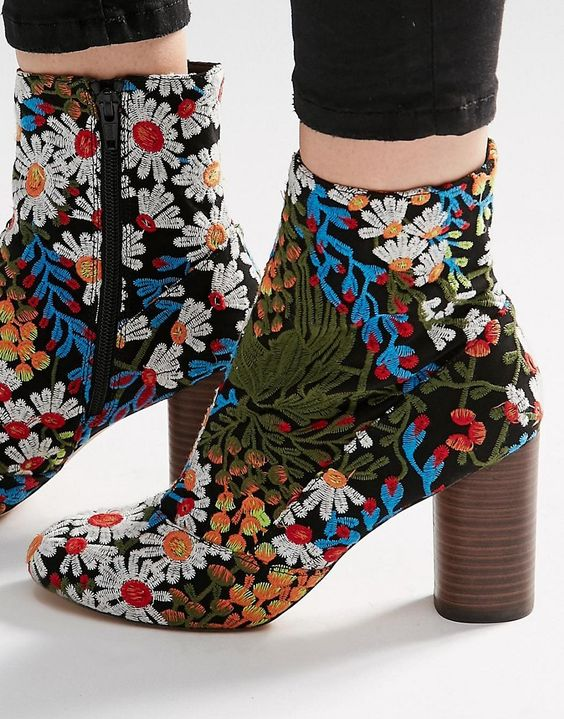 The embroidery on the EMILIA Jacquard Ankle Boots is so stunning! Perfect for starting fall out on the right foot fashion forward - get even more style and shopping inspiration on http://jojotastic.com/shop-my-favorites/: