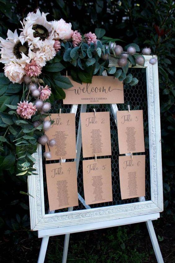 How To Make Your Wedding Seating Chart (Level: EASY!)