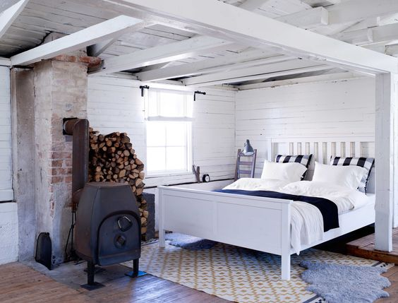 IKEA Österreich, Inspiration, Schlafzimmer, weiß, Bettgestell - schlafzimmer landhausstil ikea