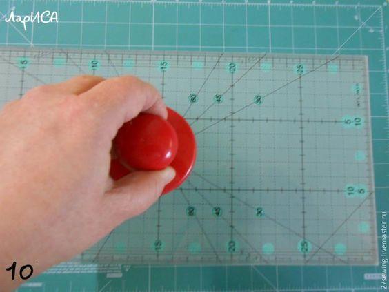 Как сделать за 5 минут держатель для линеек - Ярмарка Мастеров - ручная работа, handmade