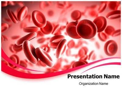 and related ppt presentation with our blood red powerpoint template