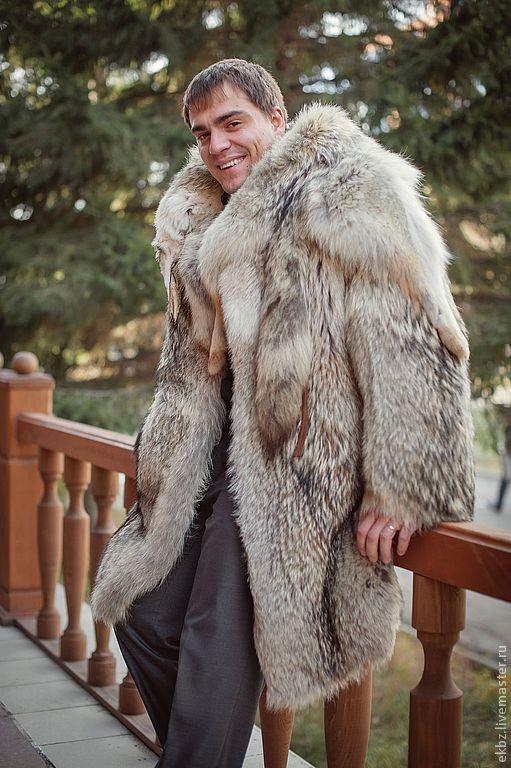 coyote fur coat - manfurs | Aspen Men | Pinterest | Coyotes, Fur ...