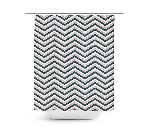 Corail Bleu marine rideau de douche motif chevron unique en 4tailles pour toute salle de bain, Polyester, bleu, 66x72 Large Queen of Cases https://www.amazon.fr/dp/B01BU8RBUW/ref=cm_sw_r_pi_dp_rF1dxb5F67T7Z