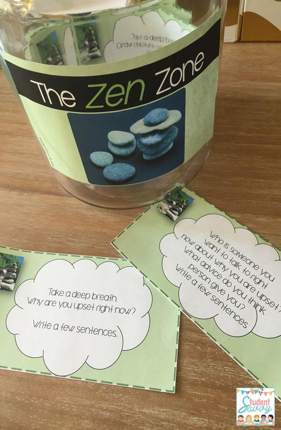 Zen Classroom Decor ~ The o jays zen and take a break on pinterest