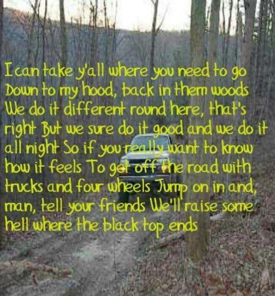 Dirt Road Anthem - Jason Aldean.
