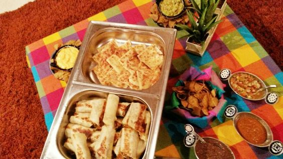 Burritos y quesadillas