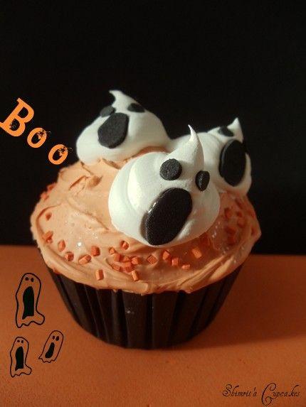 ghostly cupcake