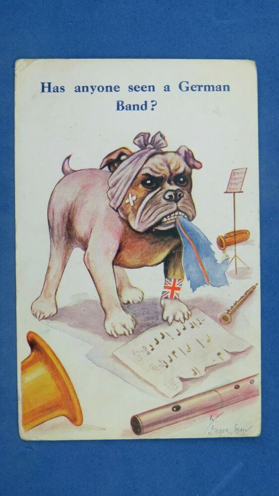 Pin On Mostly Vintage Bulldog Pictures And Postcards 4