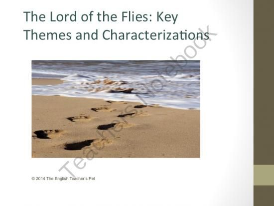 I need an essay for the book Lord of the Flies talking about theme!?