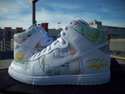 LIVESTRONG x Futura x Nike Dunk High   FLOM   Look See Samples