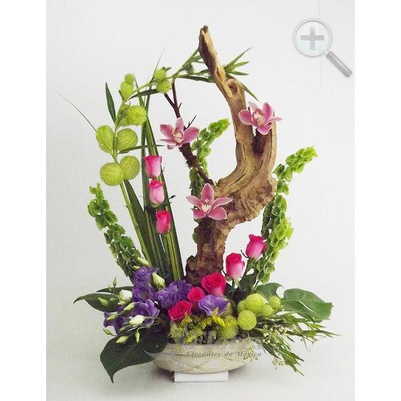 Floreria - Flores Elegantes de Mexico arreglo exotico