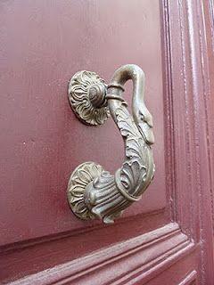 swan door handle