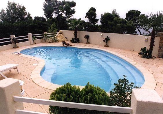 Contemporary Kidney Shaped Inground Swimming Pool Designs Kidney Shaped Pool Swimming Pools Modern Pools