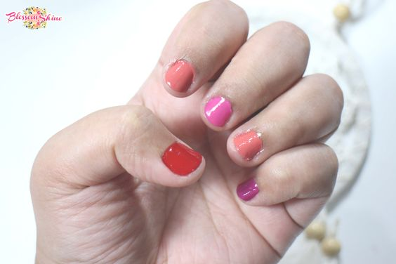 Contoh warna Peel Off Nail Polish Elsheskin