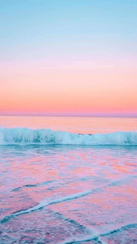 Pin By Virginia Lovell On Nature Beach Sunset Wallpaper Beautiful Nature Wallpaper Ocean Wallpaper Pastel pink beach wallpaper iphone