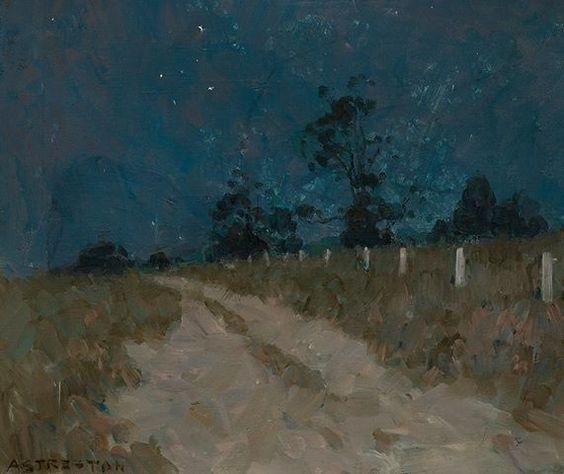 Arthur Streeton 1934, Australian on ballycraddock/Shaun.