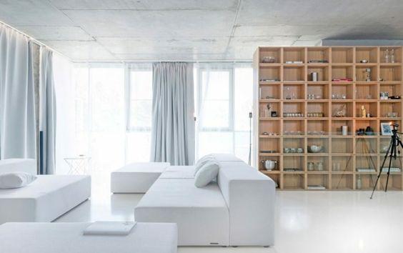 un apartamento moderno en Moscú
