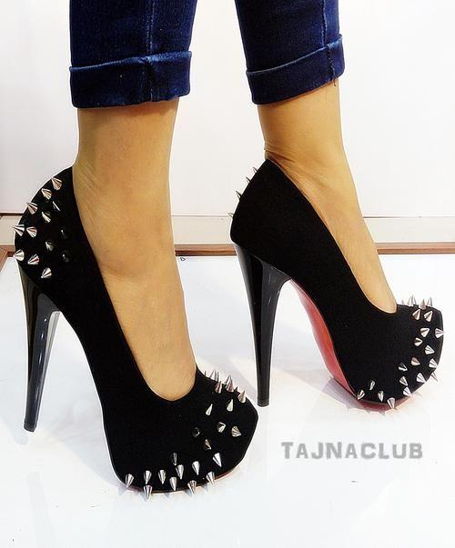 Platform Heels With Spikes