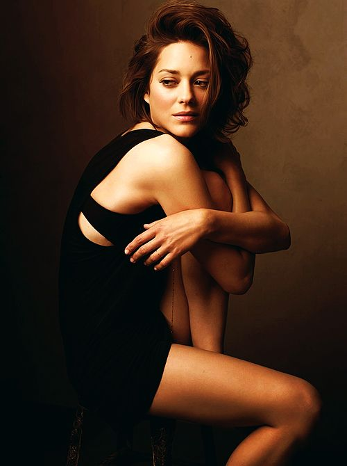 Marion Cotillard. Absolutely adore her.