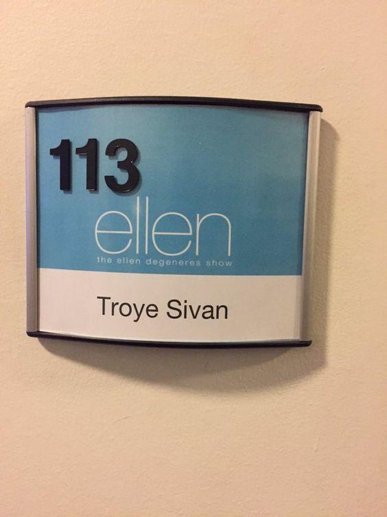 #TroyeOnEllen