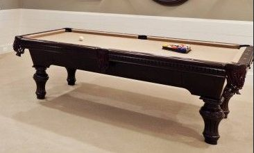 Pool Table with Camel Felt