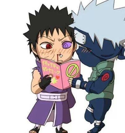 Kakashi is a bad influence. XD
