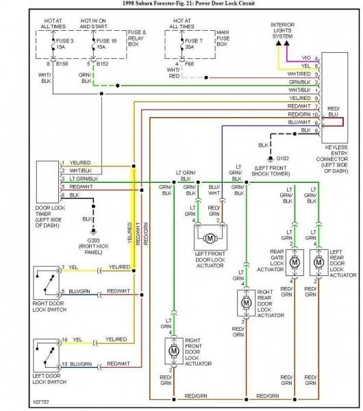 Subaru Forester Wiring Diagram Subaru Forester Subaru Diagram