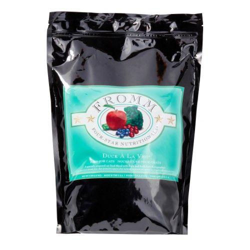 Fromm Four-Star Nutritionals Duck A La Veg Dry Cat Food, 5 lb