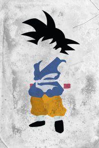 Goku DBZ Minimalist