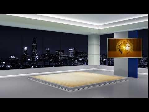 News Tv Studio Set 39 Virtual Green Screen Background Loop Habf Tf D Youtube Greenscreen Studio Studio Background News studio background hd 1080p