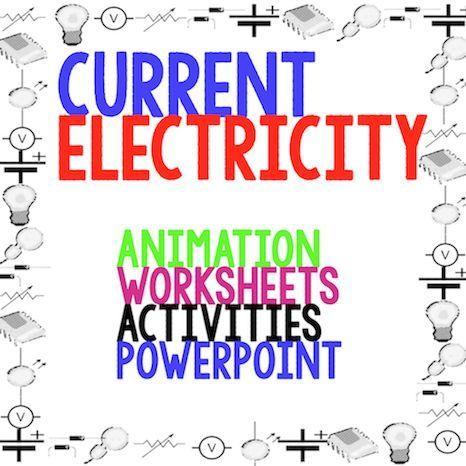 Electricity worksheets grade 6