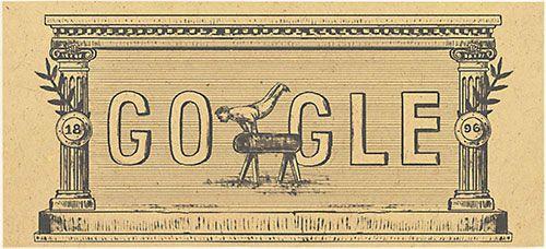 Heute (06.04.2016) werden die modernen Olympische Spiele von Google mit einem Doodle gefeiert. Die Wettkämpfe jähren sich zum 120. Mal.