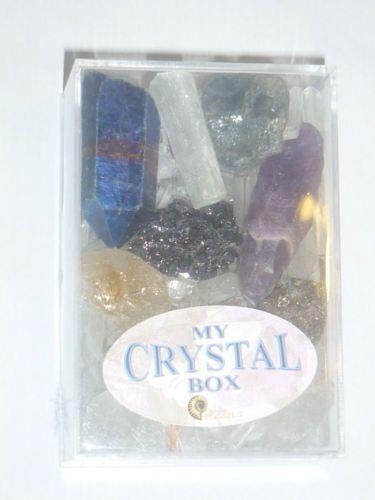 SET-COLLEZIONE-CRISTALLI-MINERALI-diamante-quarzo-himalaya-acqua-aura-ametista