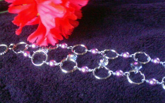 Retro Hollywood Inspired Bracelet by ElementalKarma on Etsy, $30.00
