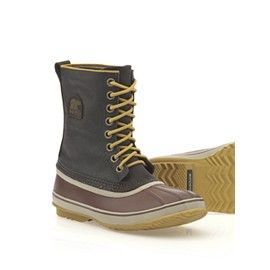Sorel Men's 1964 Premium™ T CVS Boot. Kinda heavy but good heavy. Warm & dont have to worry about slush puddles. Artic rugged look.