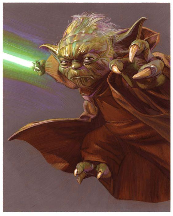 Yoda by Tommy Lee Edwards