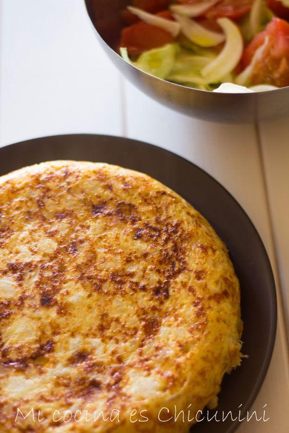 Cocina.es   Mi Cocina Es Chicunini Tortilla De Coliflor En Gm Olla Gm