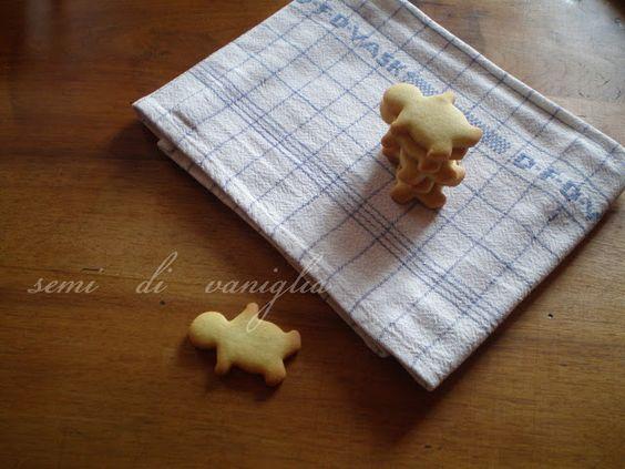 Eccoli qua gli omini di biscotto: non sono carini? :)