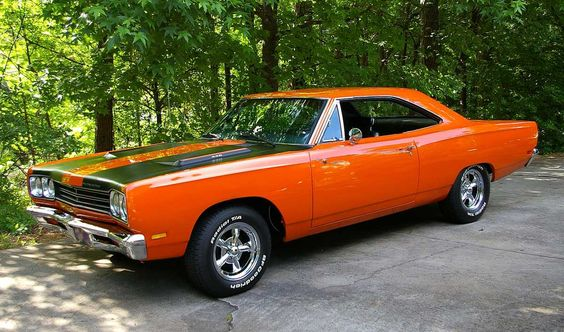 roadrunner   ... Here is a very clean 1969 (?) Plymouth Roadrunner, sent in by a fan