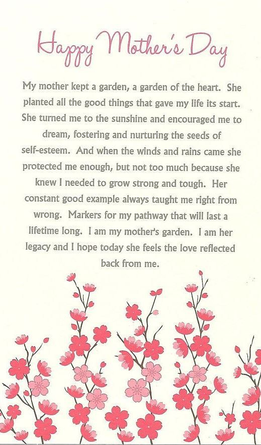 Happy Mothers day Sayings 2017 From Daughter Husband, Quotes ...