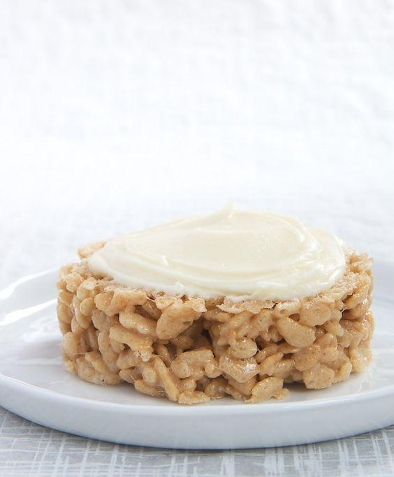 ... crispy crispy bars crispy treat ceral treats treats bake forward