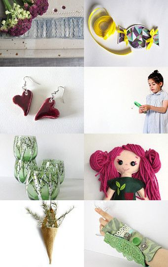 Spring Madness by Ale on Etsy--Pinned with TreasuryPin.com