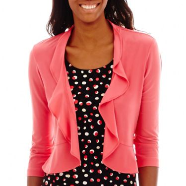 Danny & Nicole® 3Q Sleeve Ity Jacket Dress - JCPenney