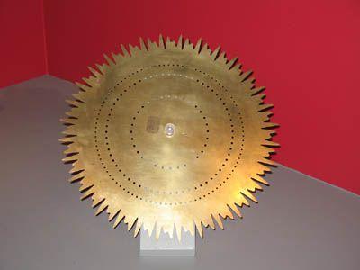 Fourier - disque d'une sirène conçue par Koenig