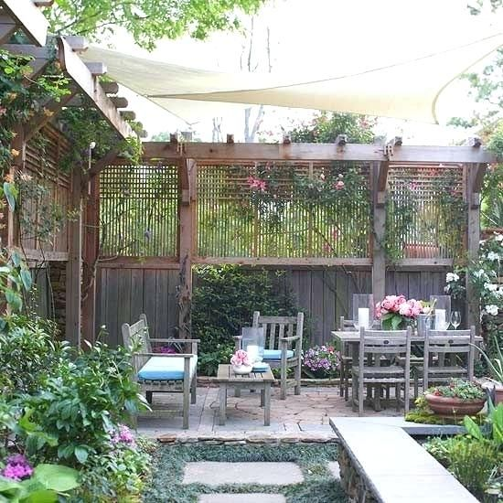 Image Result For Cheap Ways To Block Neighbors View Pergola